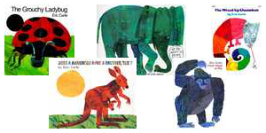 Eric Carle Covers