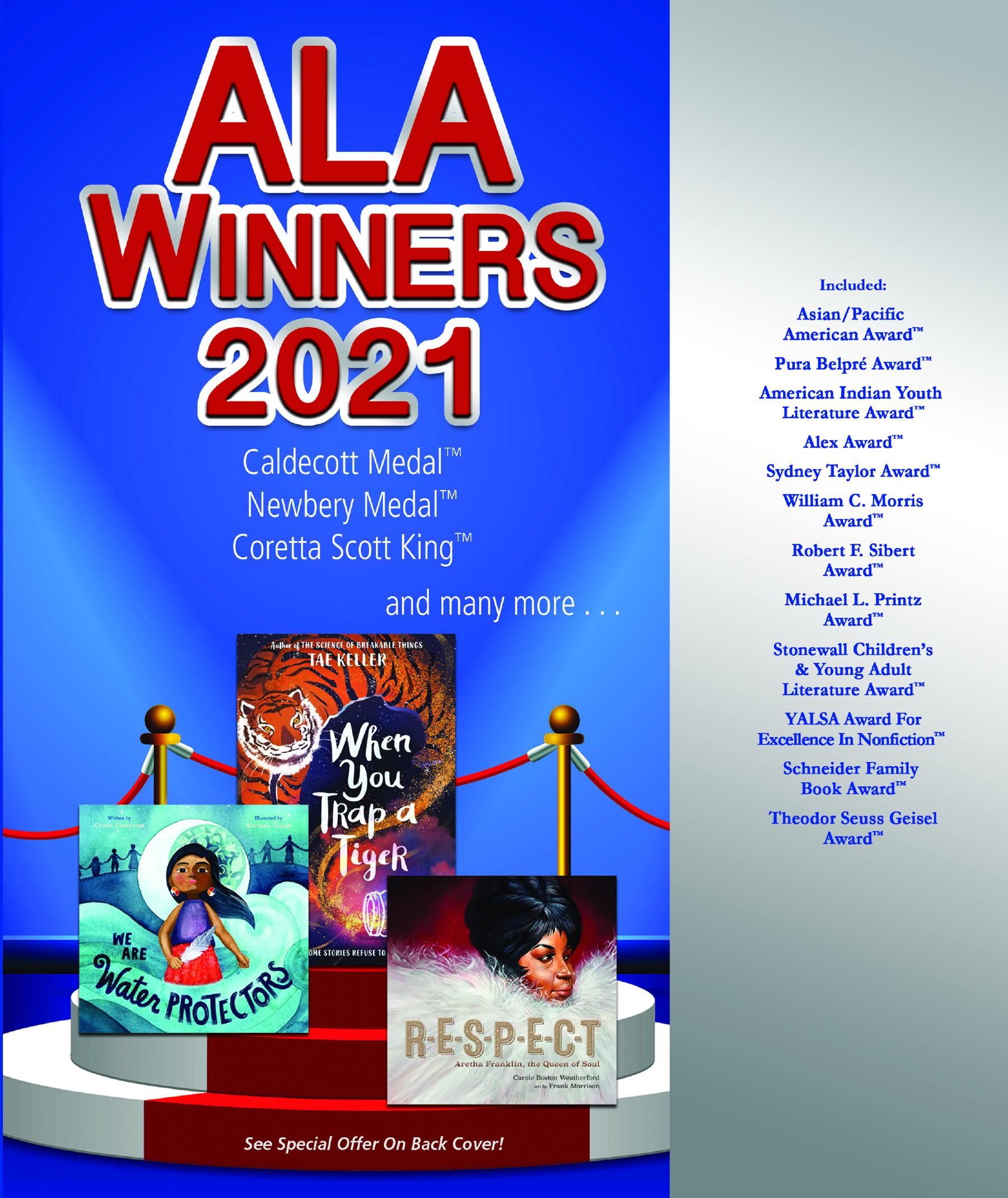 2021 ALA Winners