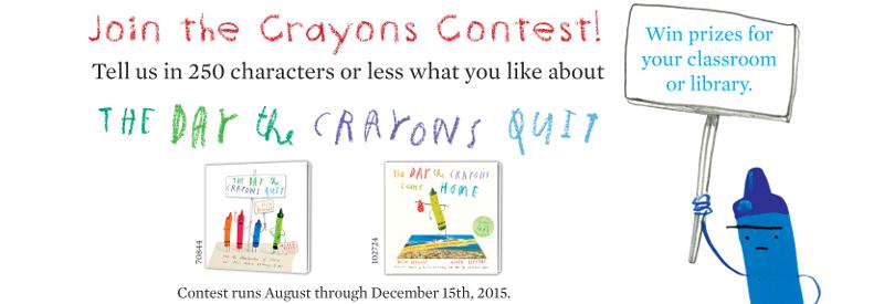 Crayons Contest Masthead