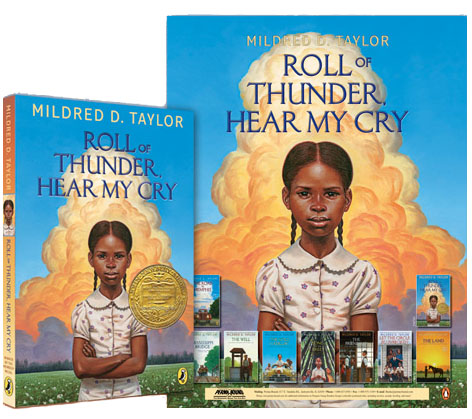 "an analysis of roll of thunder hear my cry by mildred taylor Roll of thunder, hear my cry by mildred d taylor  taylor wrote roll of thunder, hear my cry to depict heroic african americans taylor says, ""i wanted to show a family united in love and self-respect, and parents, strong and sensitive,  —mildred d taylor "" roll of thunder,."