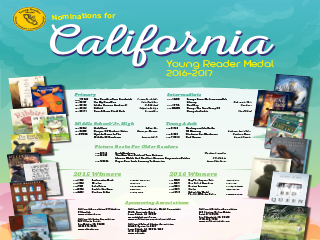 California Young Reader Poster