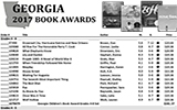 Georgia Book Awards 2017-2018