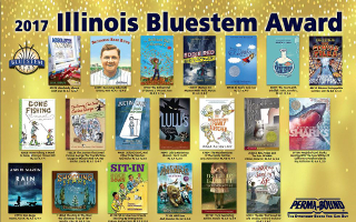 Illinois Bluestem Poster 2017 red