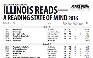 Illinois Reads- A Reading State Of Mind 2016