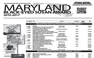 Maryland Black Eyed Susan Award
