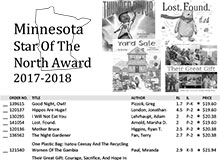 Minnesota Star of The North 2017-18 Flyer