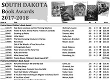 South Dakota Book Awards 2017