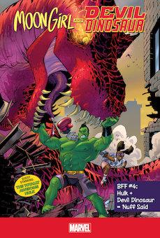 Hulk + Devil Dinosaur = 'nuff said