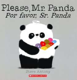 Please, Mr. Panda = Por Favor, Sr. Panda