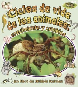 Ciclos De Vida De Los Animales: Crecimiento Y Cambios (Animal Life Cycles: Growing And Changing)