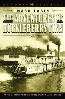 """an analysis of the novel the adventured of huckleberry finn by mark twain Two books about mark twain and his masterpiece explore his continuing  his  byline to mark twain (a river phrase meaning two fathoms, or 12 feet  in no  book is this more apparent than in """"adventures of huckleberry finn,""""."""