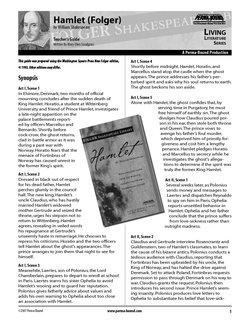Hamlet Study Guide: Bethine Ellie: 9781586093648: Amazon ...