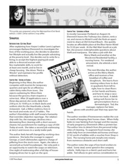 Essay about nickel and dimed