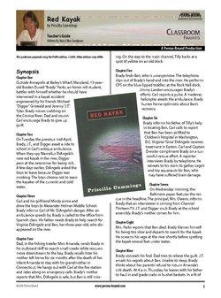red kayak teacher s guide perma bound books rh perma bound com Kayak Purchase Guide Kayak Purchase Guide