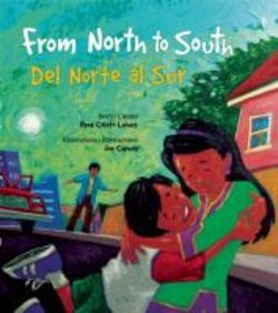 From north to south = del norte al sur
