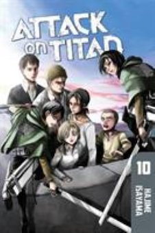 Attack on Titan 10 (Fortress of Blood)