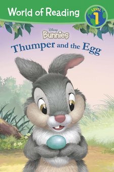 Thumper and the Egg (Includes Stickers)