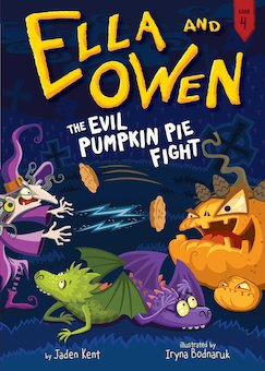 Evil Pumpkin Pie Fight!