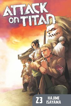 Attack on Titan 23 (Dream of Freedom Dies)