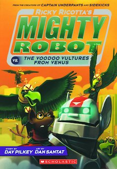 Ricky Ricotta's Mighty Robot vs. the Video Vultures from Venus