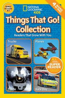 Things That Go! Collection: Readers That Grow With You